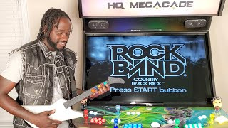 Playstation 2 + Guitar Hero/Rock Band Gamplay on HQ Megacade  'Extreme Home Arcades'