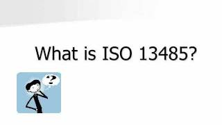 ISO 13485 Overview Training video