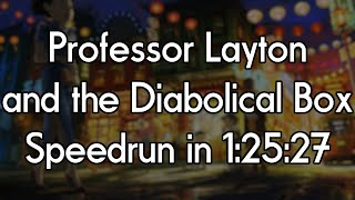Professor Layton and the Diabolical Box Speedrun in 1:25:27 [Former World Record]