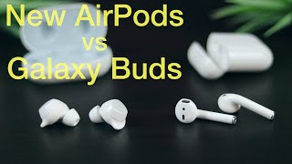 New AirPods vs Galaxy Buds: In-Depth Review