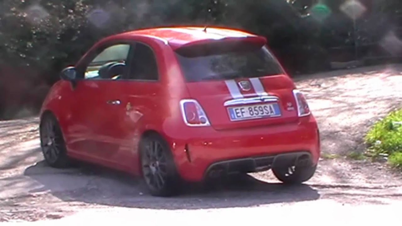 Abarth 695 Tributo Ferrari Start And Sound Youtube