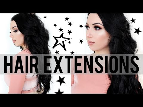 ALL ABOUT MY HAIR! Tape In Extensions vs. Fusion, Cost, Tips, Damaged Hair, Hair Color I Use