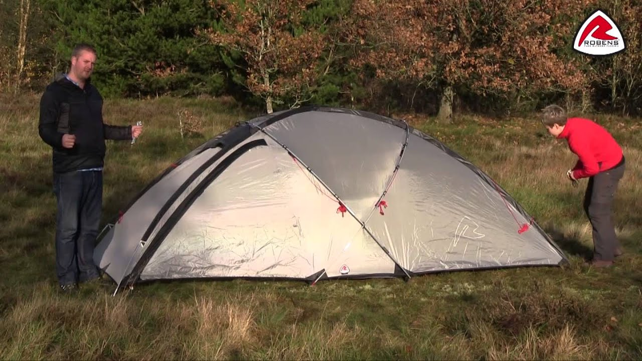 & Robens Fortress Tent Pitching Video (2014) - YouTube