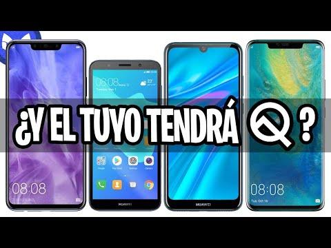 ESTOS 17 TELEFONOS HUAWEI TENDRAN Android Q