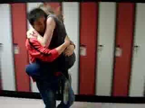 Gino And Dahnika Running Hallway Hug Youtube