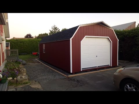 14 x 28 portable garage shed sheds ottawa youtube 14 x 28 portable garage shed sheds ottawa solutioingenieria Gallery