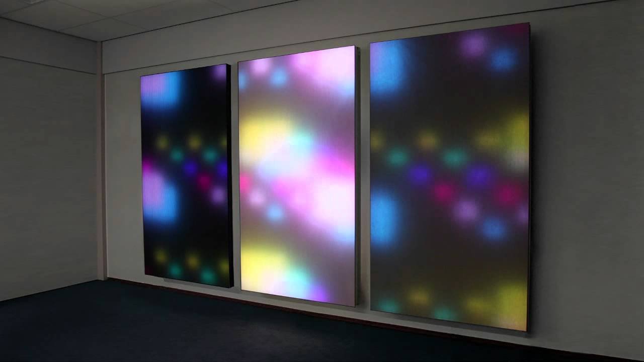 Philips Luminous Textile Panels Hd Disco Demo From