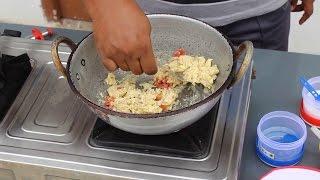 Tomato Scrambled Egg - Fluffy Scrambled Egg