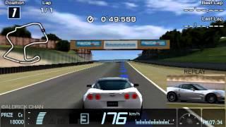 Limited Edition White Chevrolet Corvette ZR1 : Gran Turismo PSP [HD]