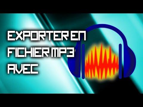 Comment exporter un fichier Audacity en format MP3 | TUTO avec Esdé