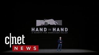 Apple's Tim Cook details Hurricane Harvey relief efforts