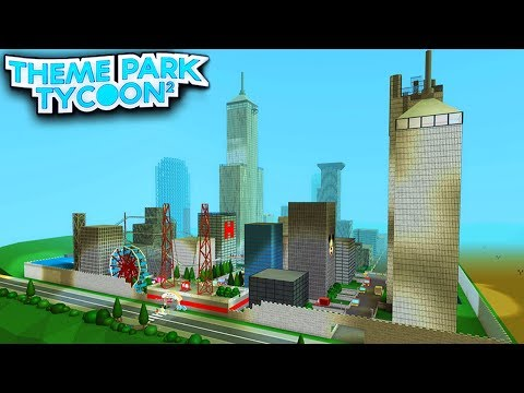 BIGGEST CITY PARK in Theme Park Tycoon 2! - Roblox
