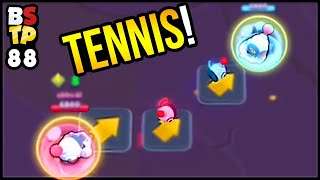Playing TENNIS IN BRAWL STARS?! Top Plays in Brawl Stars #88