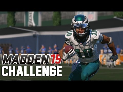 Can I Recreate Desean Jacksons Miracle Punt Return? - Madden NFL Challenge