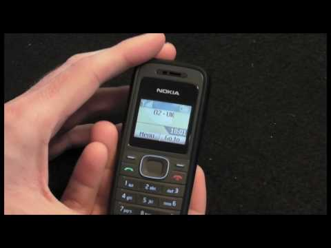 Nokia 1208 Mobile Phone Review