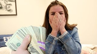 SURPRISING SISTER WITH $10,000!!