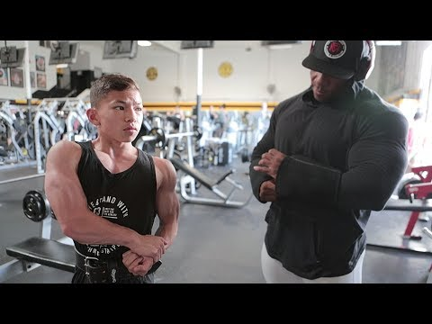 The Future of Bodybuilding | A Workout with Tristyn Lee