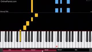 Calvin Harris - Heatstroke ft. Young Thug, Pharrell Williams & Ariana Grande - EASY Piano Tutorial