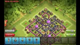 Best TH8   Farming Base   Clash Of Clans #1