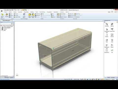 Dynamic Part Numbering in IronCAD