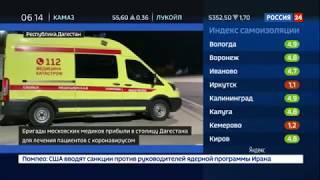 Фото В борьбе с коронавирусом Дагестану помогут медики из Москвы