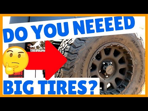 Do You NEED Big Tires Off-Road?
