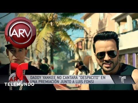 Polémica porque Daddy Yankee no cantará con Luis Fonsi | Al Rojo Vivo | Telemundo