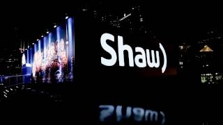Shaw Tent Projection Grey Cup Festival 2016