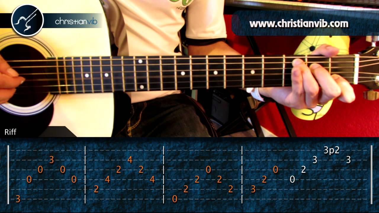 Como tocar guitarra - 5 7