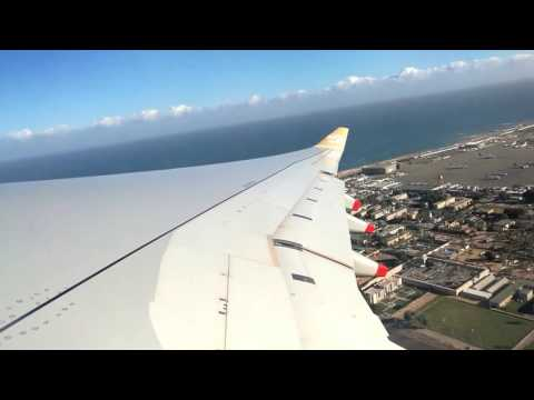 LIBYAN AIRLINES A330 TAKE OFF FROM MITIGA TRIPOLI INTERNATIONAL AIRPORT