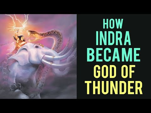 How Indra became God of Thunder | Kaise Indra bane Toofan Ke devta | Artha - Amazing facts