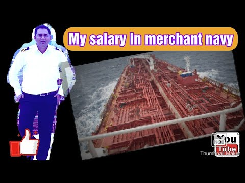 Salary In Merchant Navy / Minimum & Maximum Salary / Officer Salary On Ship