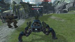 War Robots: Fujin/Hydra Game Play