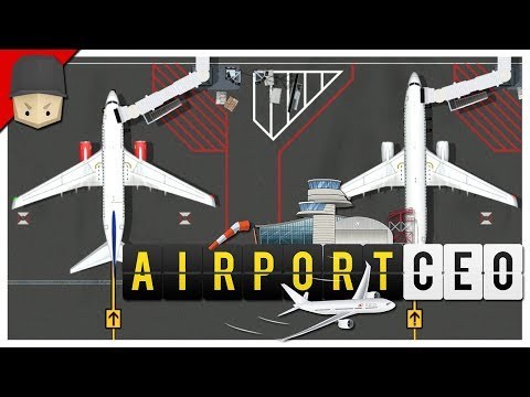 Airport CEO - Ep.03 : Runway, Taxiway & The First Airplane!
