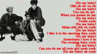 Bell Biv DeVoe Do Me lyrics