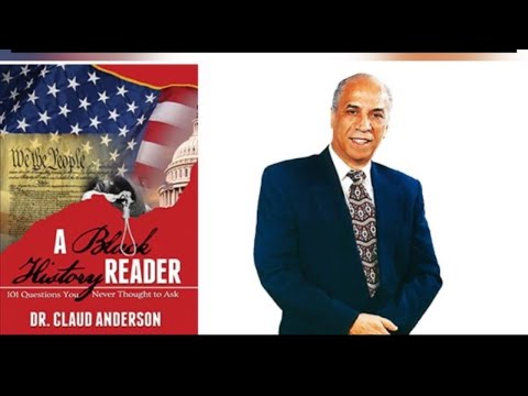 Dr Claud Anderson gives the truth on Black Wall Street
