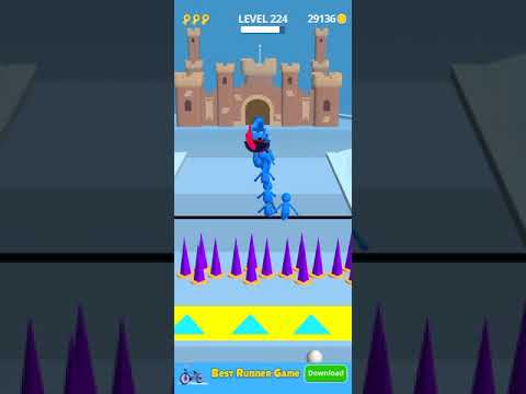 join clash 3d  gaming MAX LEVEL game (android and iOS) walkthrough gameplay ❤️ (2)