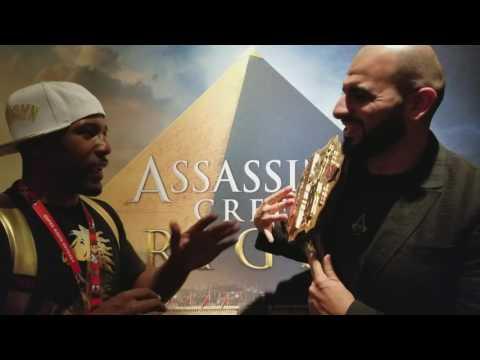 Assassins Creed Origins XBOX One X Interview Blown Away Gameplay
