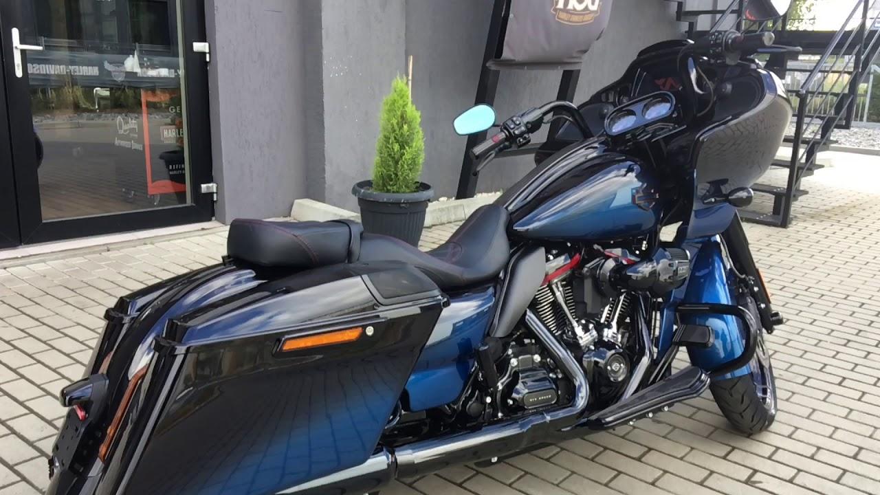2018 Harley Davidson Road Glide >> Harley-Davidson CVO Road Glide MY2019 Mako Shark Fade - YouTube