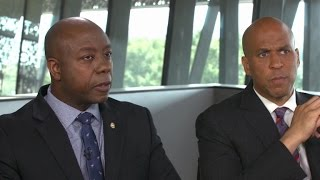 Sens. Scott and Booker talk connection beyond politics