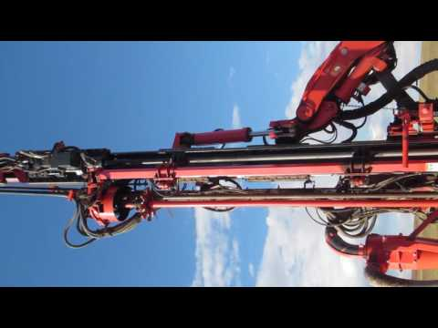 DP1500i Drill Rig during the drilling in Mongolia MAK mine site