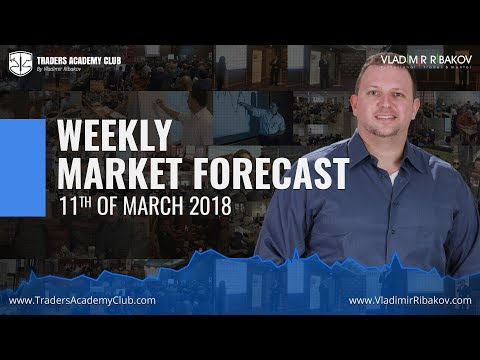 Forex Trading Weekly Review 11th To 16th Of March 2018 - By Vladimir Ribakov