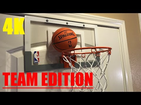 Spalding NBA Slam Jam TEAM EDITION Basketball Hoop Review!