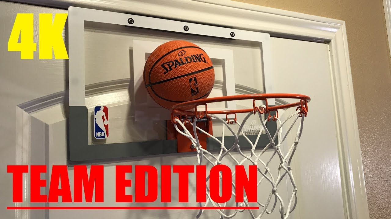 d5540d3006a Spalding NBA Slam Jam TEAM EDITION Basketball Hoop Review! - YouTube