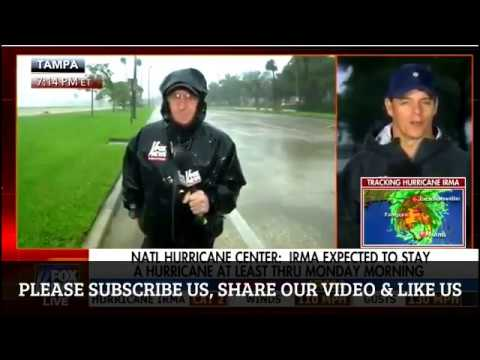 FOX NEWS REPORT HURRICANE IRMA LANDFALL ON TAMPA, FLORIDA - 9 11 17 | HURRICANE IRMA UPDATE NEWS