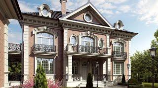 видео Дизайн фасада частного дома