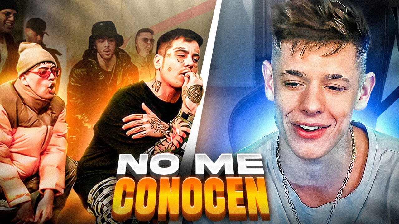 OKY REACCIONA A NO ME CONOCEN (REMIX) - BANDIDO, DUKI, REI, TIAGO PZK 🔥