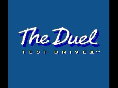 SNES Longplay [468] Test Drive 2: The Duel