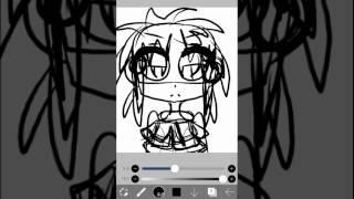 how i draw a sick anime girl 😇