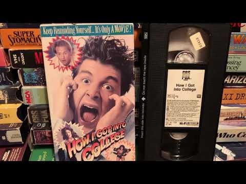 How I Got Into College (1989) Anthony Edwards Lara Flynn Boyle Corey Parker 1980s 80sThen80sNow